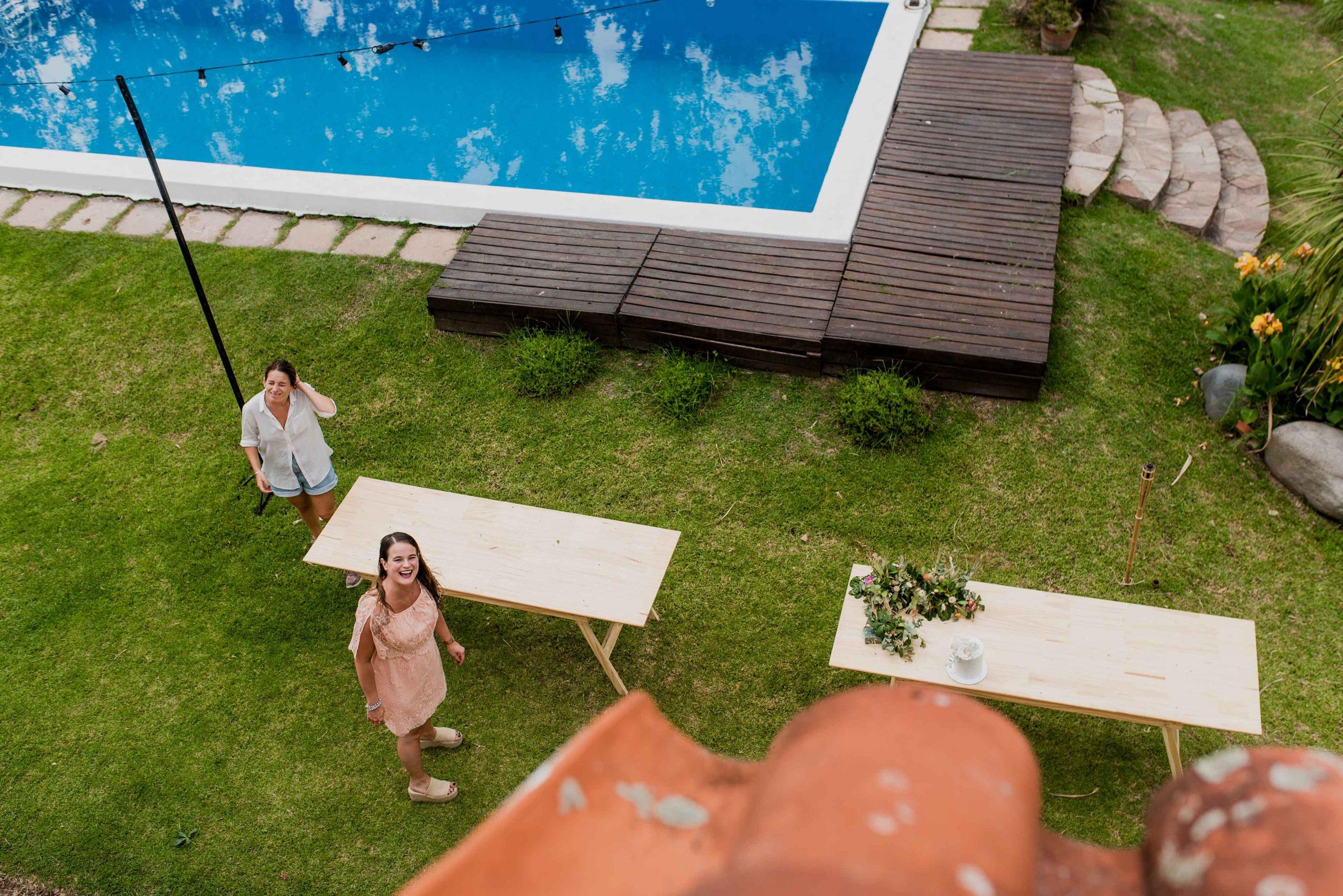 Fotos de la boda de Vale y Rami en Pueblo Esther Rosario realizadas por Bucle Fotografias Flor Bosio y Caro Clerici