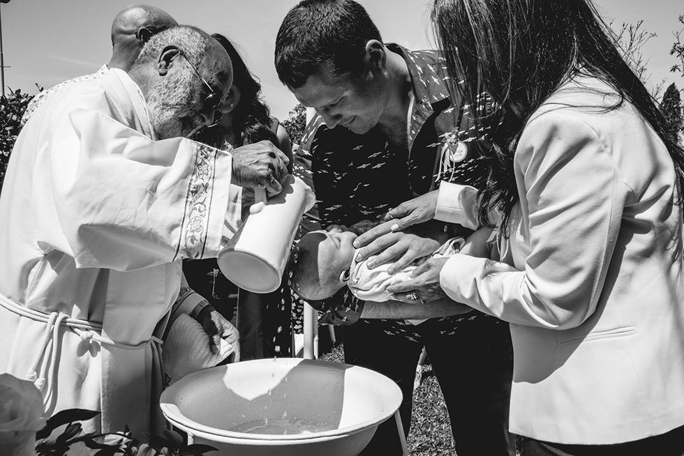 Fotos de la comunión de Santino y el bautismo de Cande en Rosario realizadas por Bucle Fotografías Flor Bosio y Caro Clerici