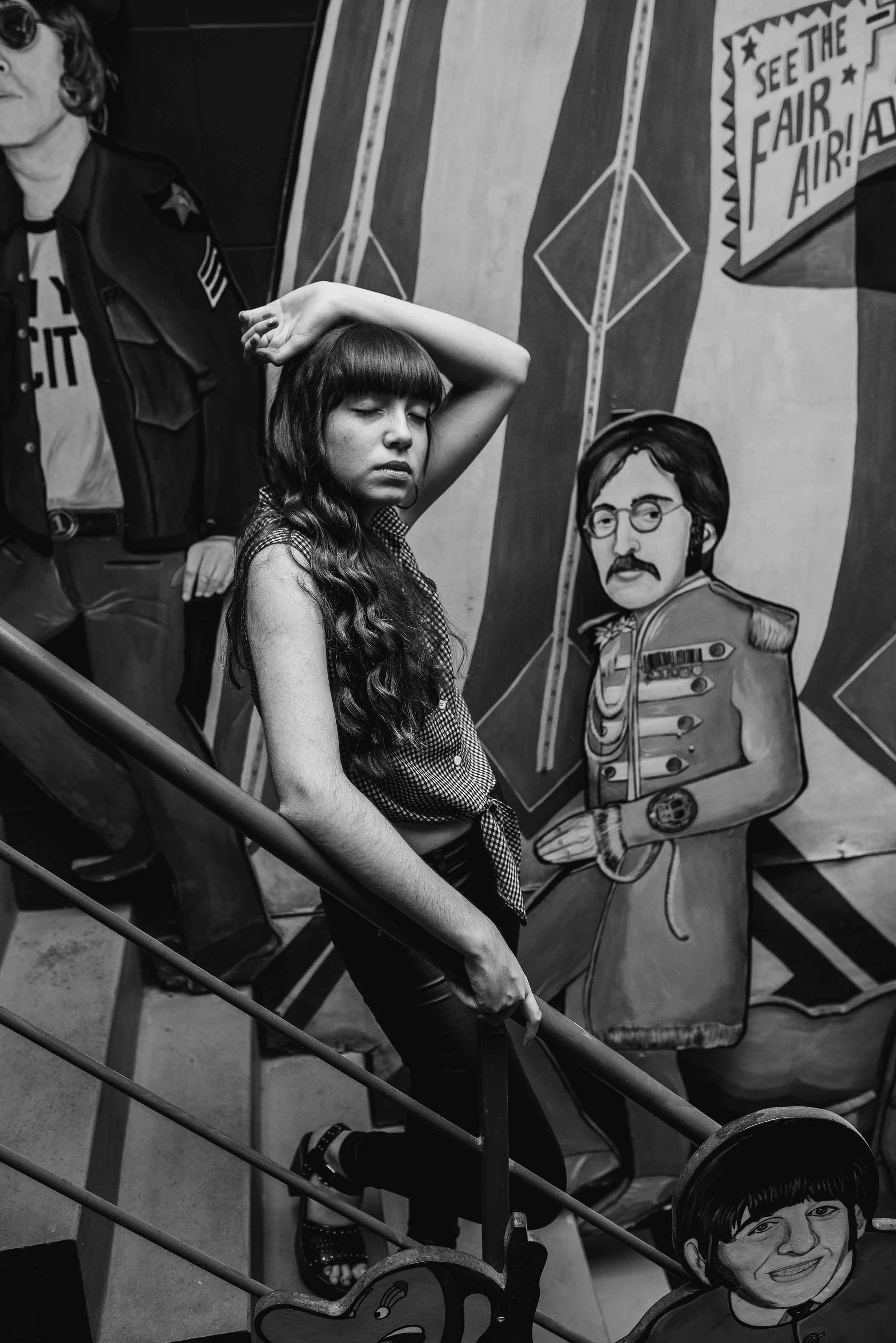 Fotos del book de XV de Miranda en Rosario realizadas por Bucle Fotografias Flor Bosio y Caro Clerici