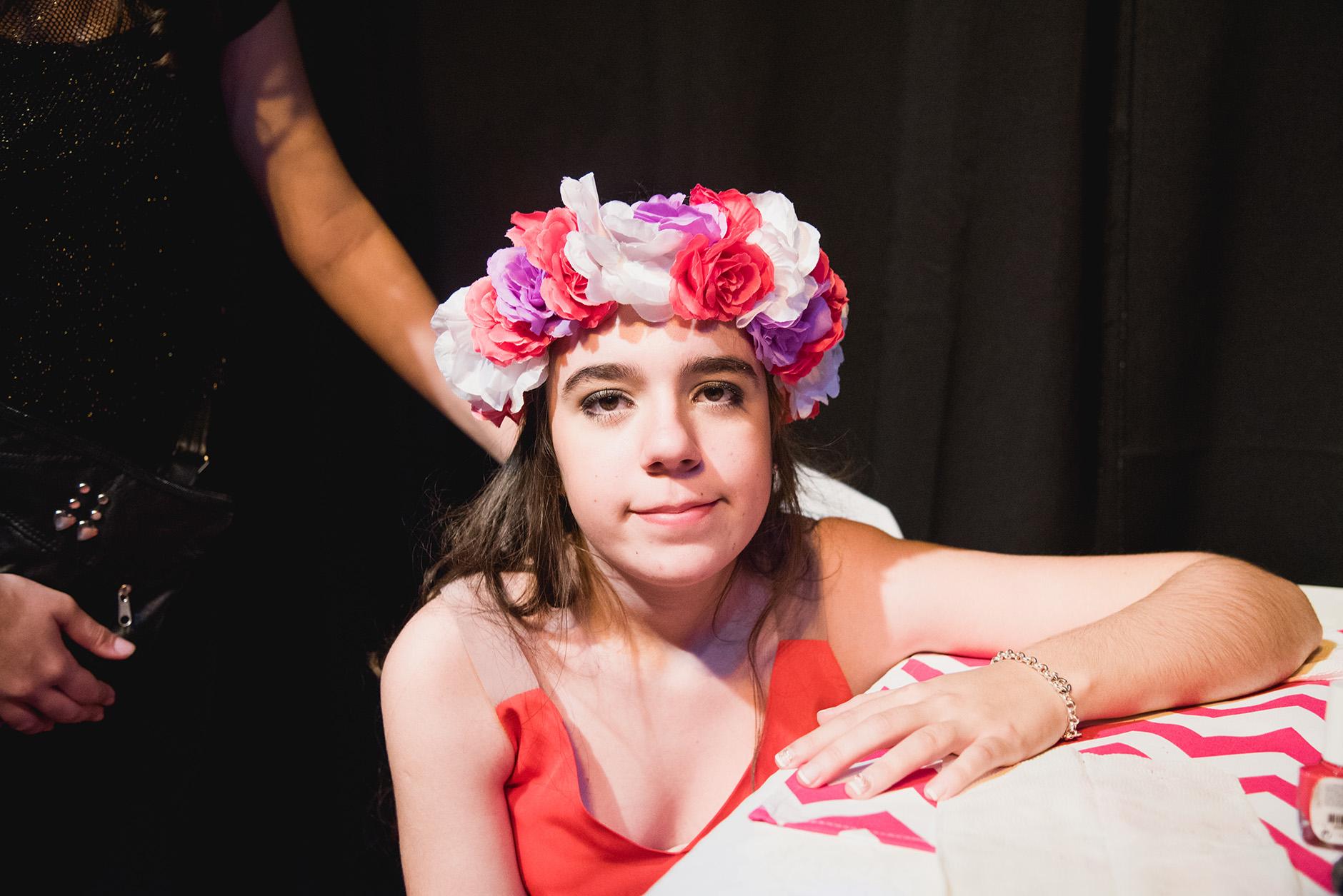 Fotos del cumpleaños de XV de Clari en Rosario Bucle Fotografias Flor Bosio y Caro Clerici