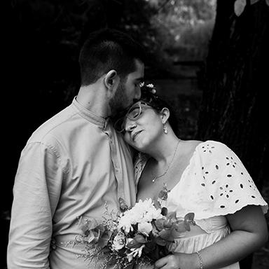 Imagen destacada de las fotos de la boda de Lucre y Jordi en Roldán realizadas por Bucle Fotografías Flor Bosio y Caro Clerici