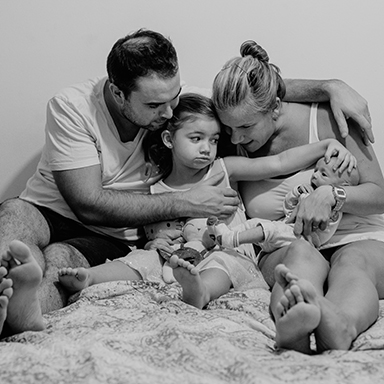 Imagen destacada de las ftos de recién nacido de Gianluca realizadas en Rosario por Bucle Fotografias. Flor Bosio y Caro Clerici